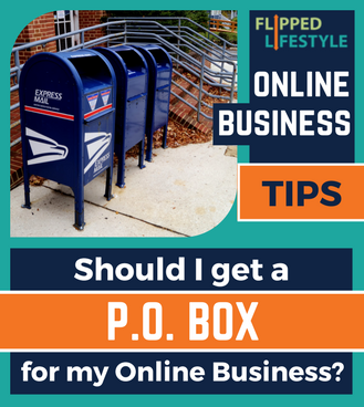 should i use a po box for my online business