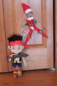 Elf on the shelf takes jake hostage!
