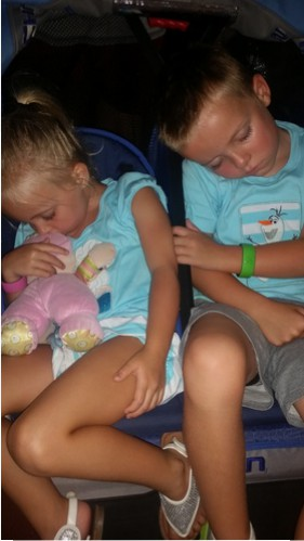 Tired from Disney and fighting hackers!
