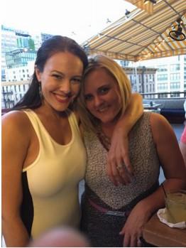 Jocelyn and Jill in New York