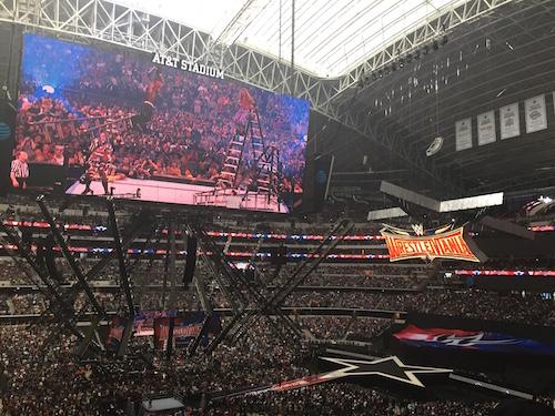 Wrestlemania in Dallas, Tx