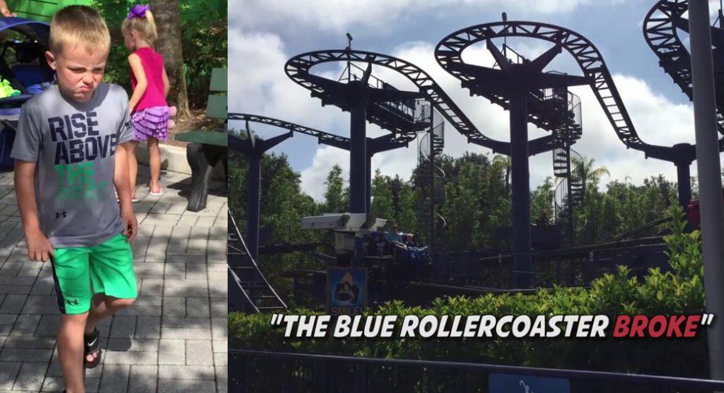 broken coaster