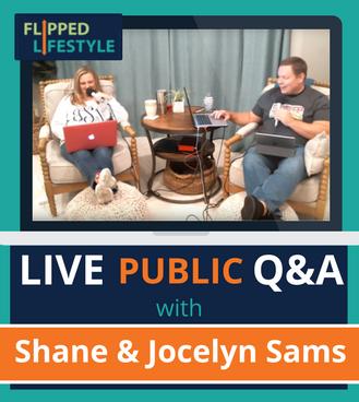 flipped lifestyle live public q&a