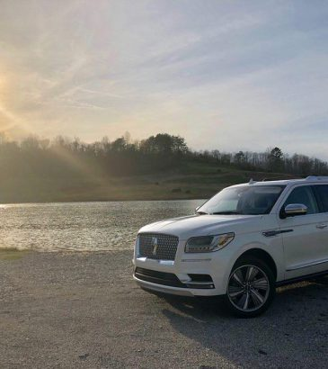 black label lincoln navigator by the lake
