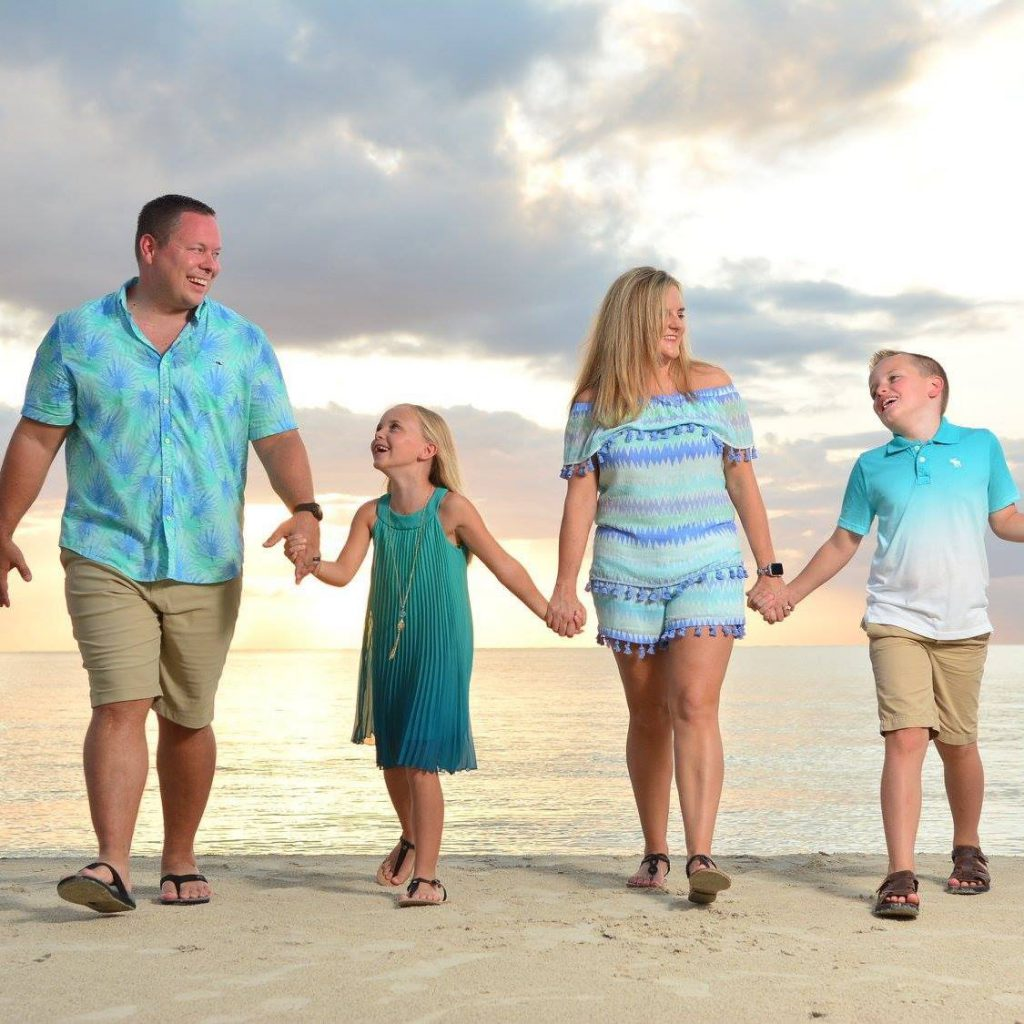 Family photo in Jamaica!