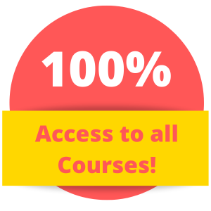 100 percent access to all courses