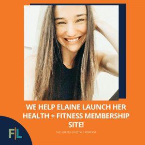 We Help Elaine Launch Her Health + Fitness Membership Site!