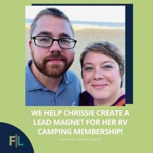 We Help Chrissie Create A Lead Magnet For Her RV Camping Membership!