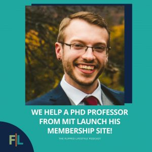 We Help a Ph. D Professor From MIT Launch His Membership Site!